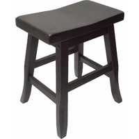 Pagoda Timber Dining Stool 450mm Chocolate