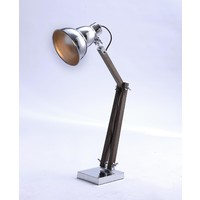 Industrial Chrome Gourd Table Lamp 75018