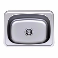 Clark 8610 45L Single Bowl Inset Tub Laundry Sink 48cm x 64cm