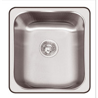Abey NuQueen Q100 The Hawksbury 25L Single Bowl Insert Sink 406mm x 466mm