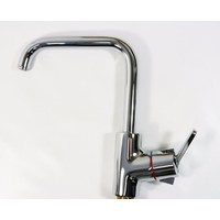KWC Divo Arco Square Neck Swivel Kitchen Sink Mixer Tap 10.051.013