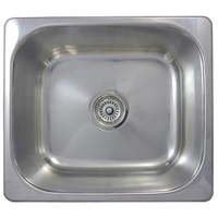 SE6 29L Inset Single Bowl Bar Sink 475 x 420 x 180mm