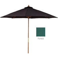 Shelta Como Outdoor Umbrella 2700mm Forest Green