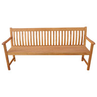 Whitely 4 Seater Timber Outdoor Park Bench 1800mm