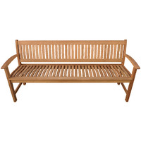 Lucca 4 Seater Timber Outdoor Park Bench 1500mm