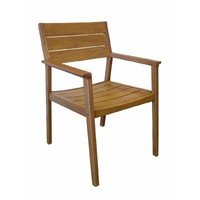 Capri Caver Dining Chair Garden Deck Pool Outdoor Seat