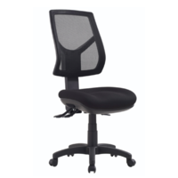 RIO Office Chair High Back Metro Black RIO-H-MB