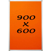 KR Pin Board Felt Display Notice 900mm x 600mm Pinboard