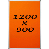 KR Pin Board Felt Display Notice 1200mm x 900mm Pinboard