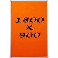 KR Pin Board Felt Display Notice 1800mm x 900mm Pinboard