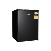 Heller 70L Bar Fridge Black BFH70