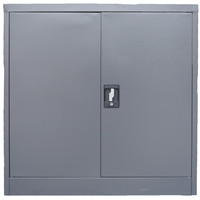 Metcom Metal 2 Door Half Stationary Lockable Cupboard