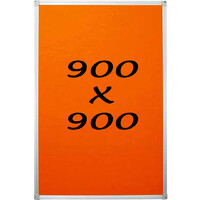 KR Pin Board Felt Display Notice 900mm x 900mm Pinboard