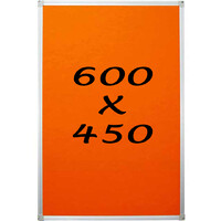 KR Pin Board Felt Display Notice 600mm x 450mm Pinboard