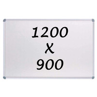 KR Commercial Magnetic Whiteboard 1200 X 900mm