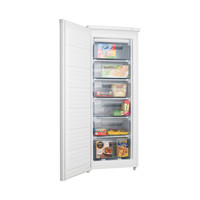 Heller 175L Pigeon pair All Freezer with 6 Plastic Drawers PPF175