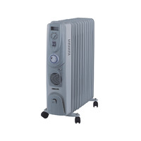 Heller 11 Fin 2400W Oil Heater with Timer OIL11T