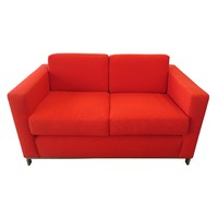 Montage Range Visitors Fabric 2 seater Sofa Lounge Red