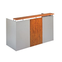Merlin Solo One Reception Desk Office 750 x 1800mm