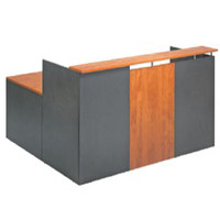 Merlin Solo Two Reception Office Desk 750 x 1800mm