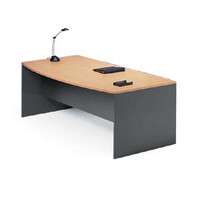 Merlin Executive Desk 1800 x 750mm Beech Ironstone