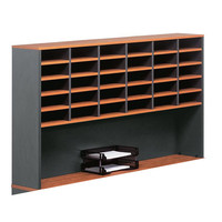 Merlin Pigeon Hole 30 hole Desk Top Hutch 1070mm x 1800mm