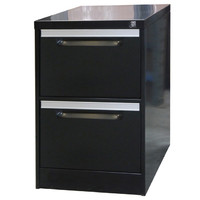 Coform 2 Drawer Filing Cabinet Aussie Made Life Time WARRANTY Black