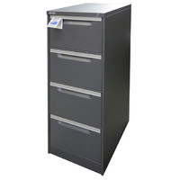 Coform 4 Drawer Filing Cabinet Aussie Made Life Time Warrenty Graphite Ripple