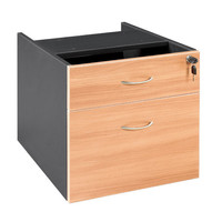 Swan Fixed Pedestal with Key lock 1 Pencil 1 Filing Drawer
