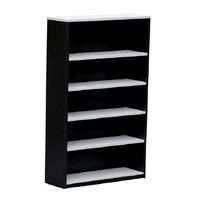 Swan Book Case 1800m x 900mm bookcase office Home Charcoal White
