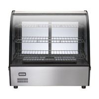 Hot Food Bar Showcase Heating & Display Cabinet Stainless Steel 160L Birko 1040062