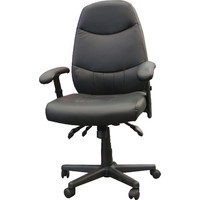 Washington Executive Swivel Gaslift Office Chair - Black