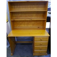 Second Hand Classic Pine Timber Student Desk