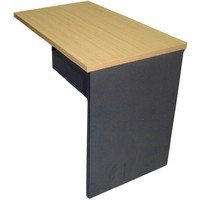Swan Office Desk Return 900 x 600 x 720mm Beech / Charcoal