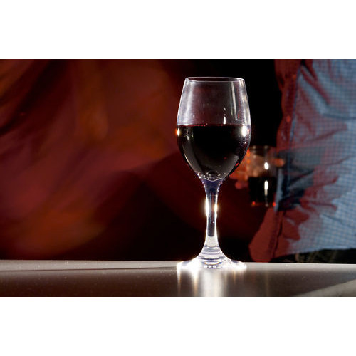 Wholesale clear restaurant glassware plastic wine glasses Large wine glasses cheap