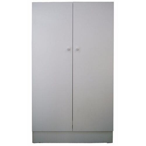 Riteway 2 door budget melamine timber white linen pantry Pantry 800mm