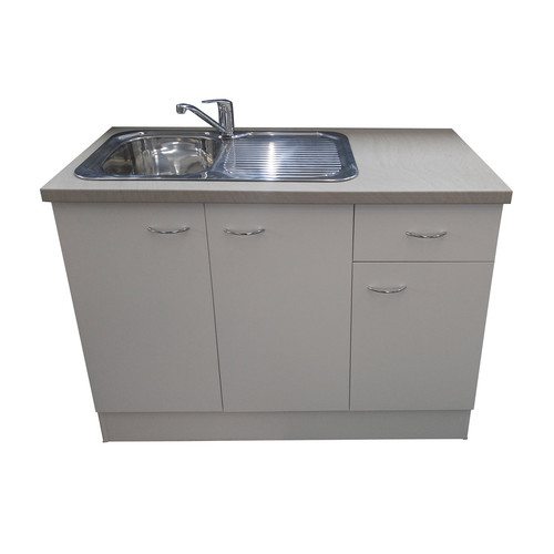 seytim builders kitchen sink mixer cabinet white