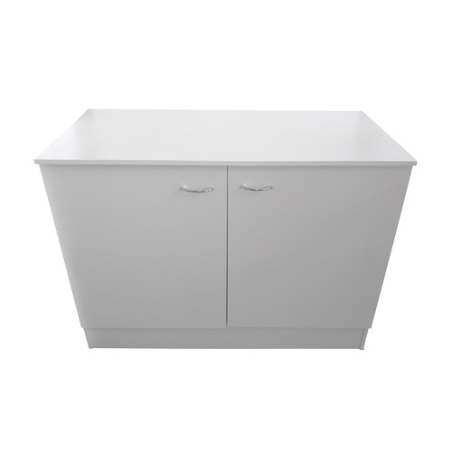 Seytim builders laundry kitchen cabinet white 1000mm wide for Kitchen cabinets 1000mm
