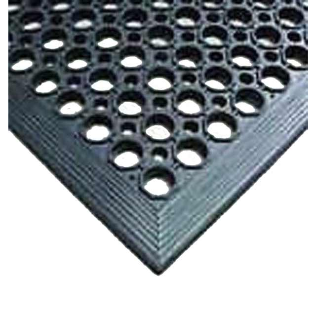 Safety Mat Rubber 90cm X 150cm Durable Industrial Anti