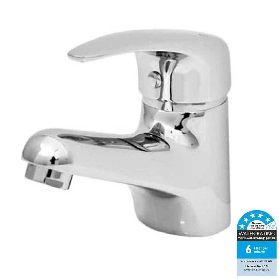 Castano Bathroom Basin Mixer 35mm Cartridge Fixed Tap Capri CAFBMC35