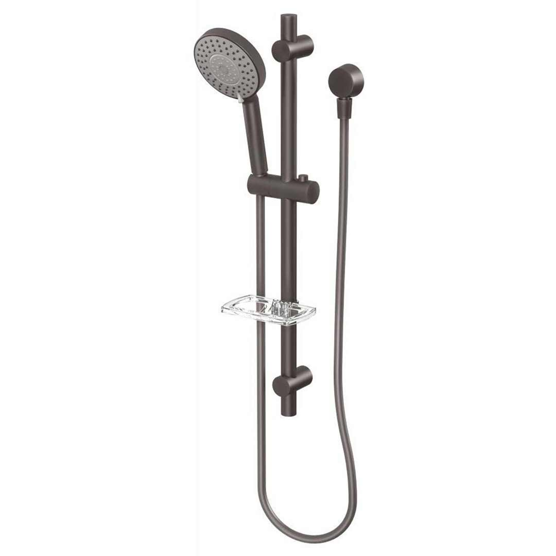 Phoenix Tapware Hand Shower on Rail Gun Metal Vivid V685 GM