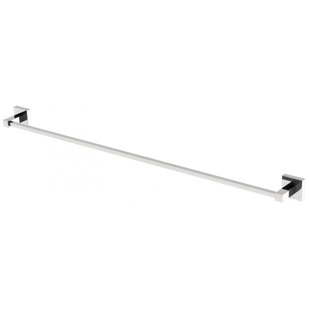 Phoenix Tapware Single Towel Rail 800mm Chrome Lexi LE50205C