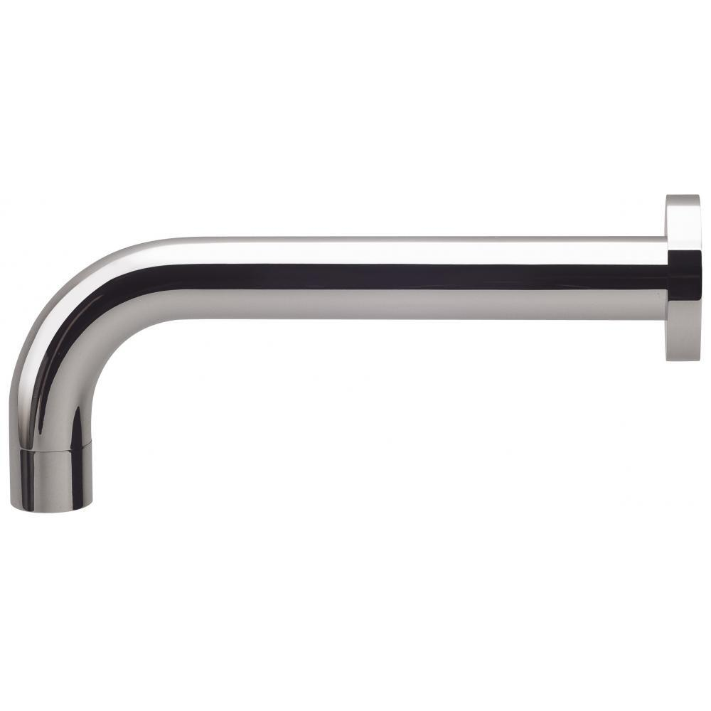 Phoenix Tapware Bathroom Wall Basin Outlet 200mm Spout Cureved Chrome Vivid V252 CHR