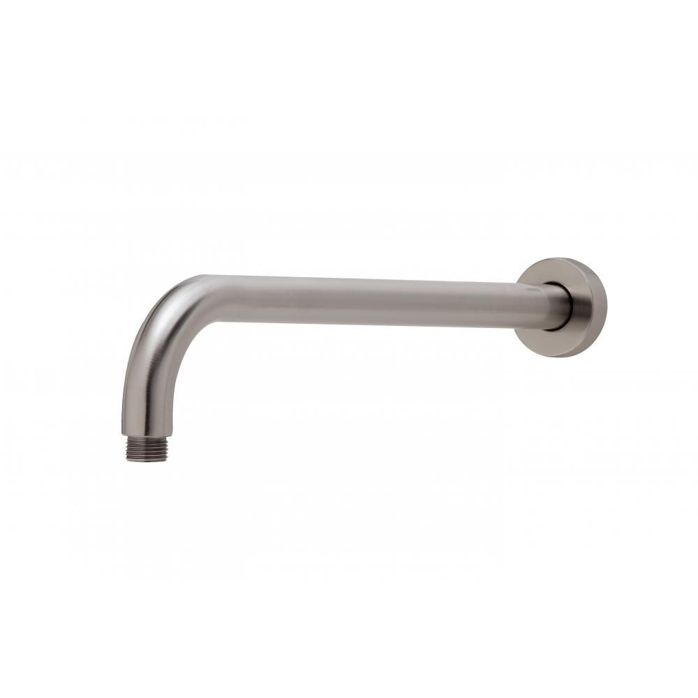 Phoenix Tapware Shower Arm 400mm Round Brushed Nickel Vivid V6000-40