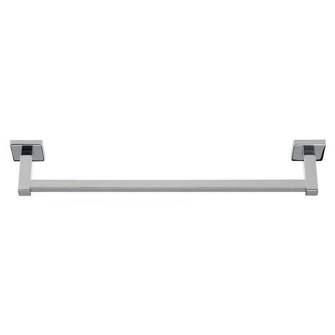Virtu Single Towel Rail 800mm Chrome Cubit 8801C-8