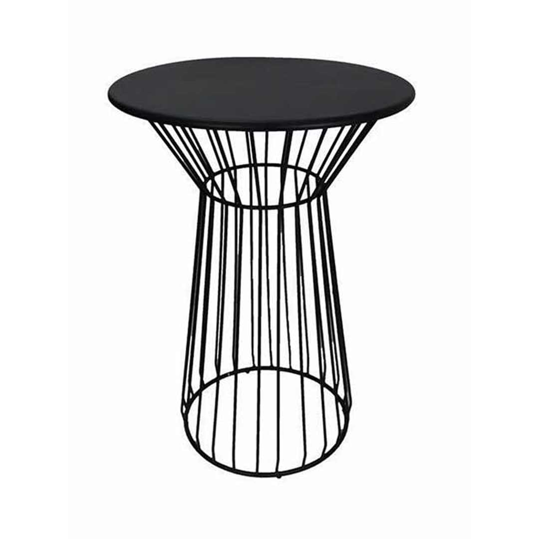 Net Outdoor Table Replica Bend Wire Lucy Bar High 100cm Matte Black