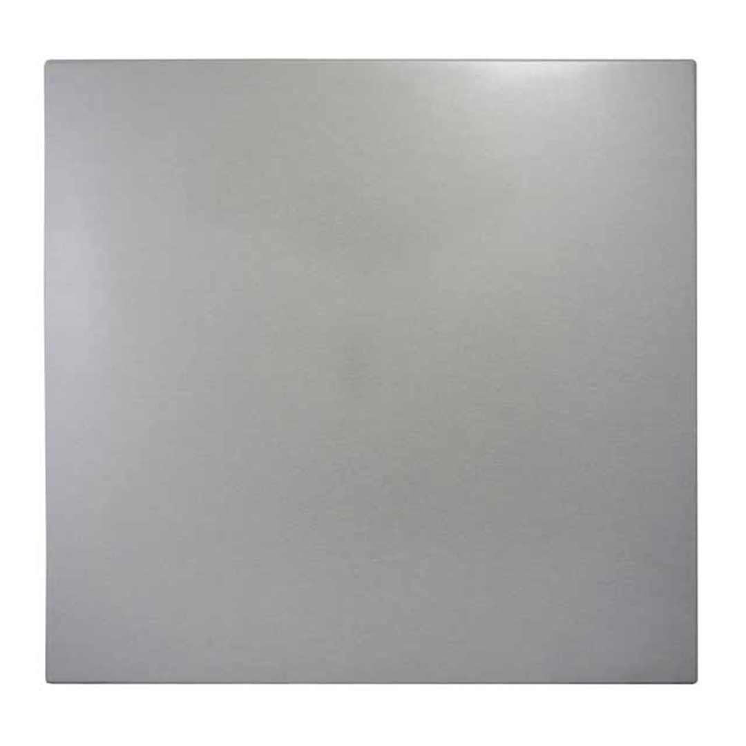 Pub Bar Table Top Outdoor Square Dining Tops 800mm Silver