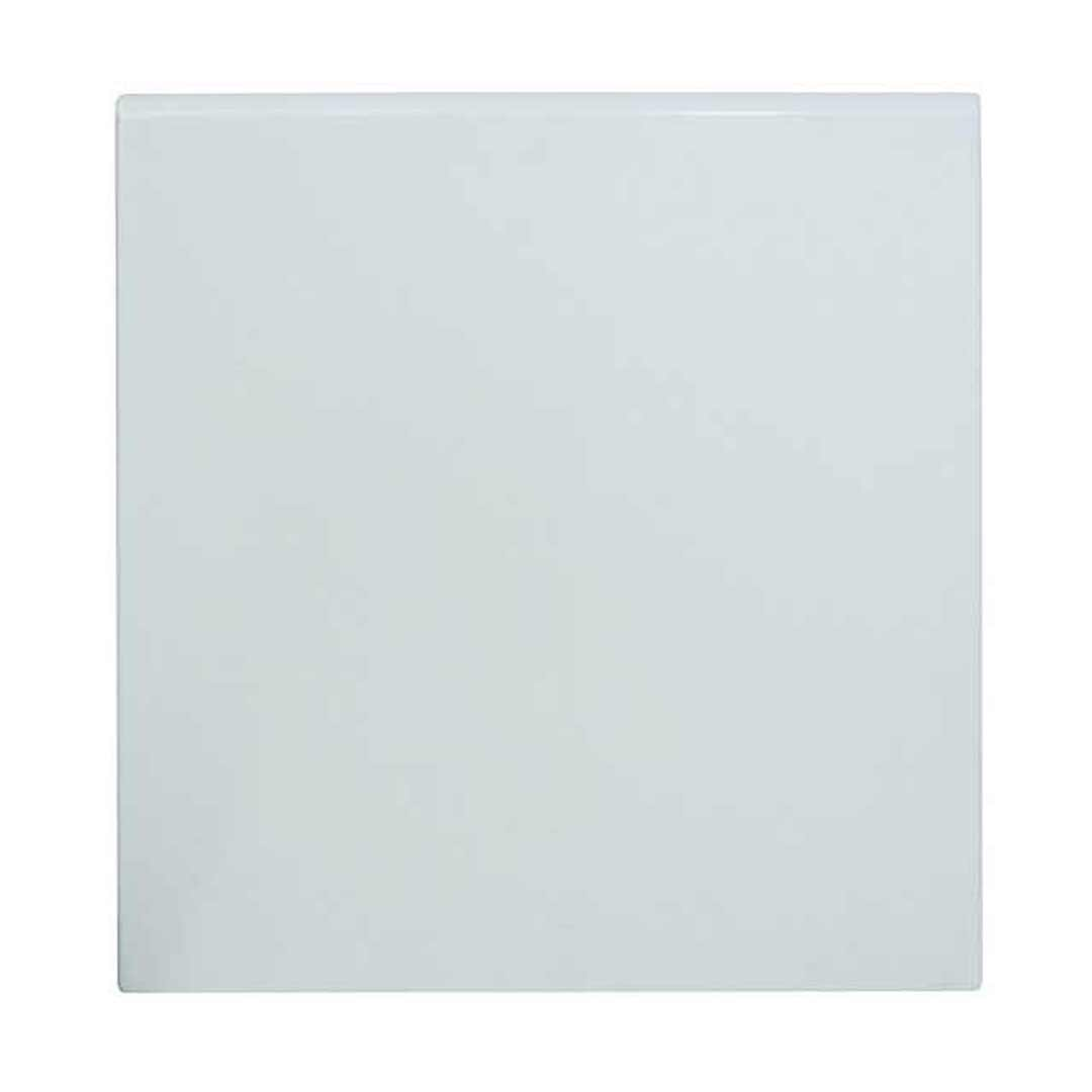 Anti Scratch Table Top Outdoor UV Square 600mm White