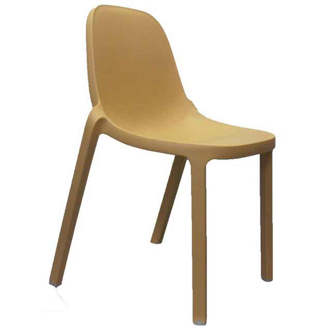 Broom Replica Philippe Starck Dining Chair Outdoor Natural