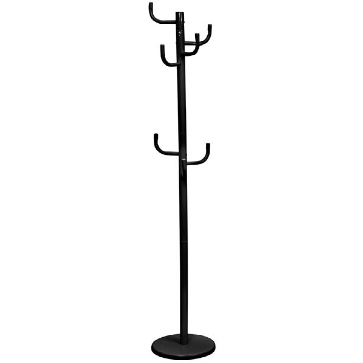 Cactus Hat and Coat Stand Hatstand Metal Black